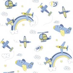 Papel Aviao Azul